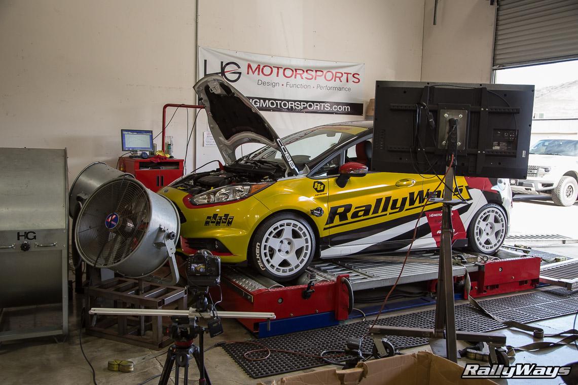 Fiesta ST COBB Stage 3 Power Figures - RallyWays