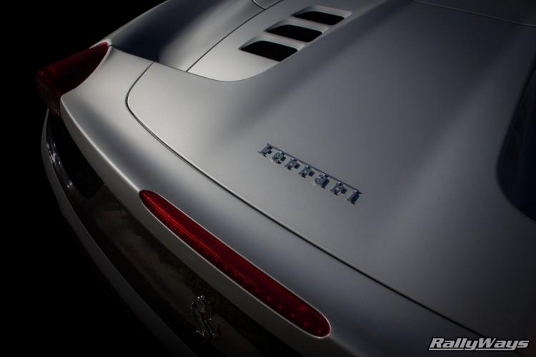 Matte Vehicle Detailing - Ferrari 458