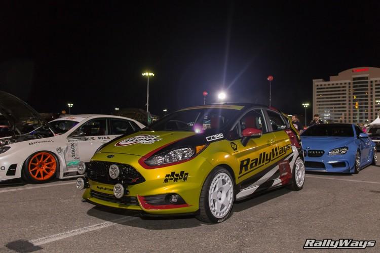 SEMA Ford Fiesta ST - SEMA Ignited - #RallyFist