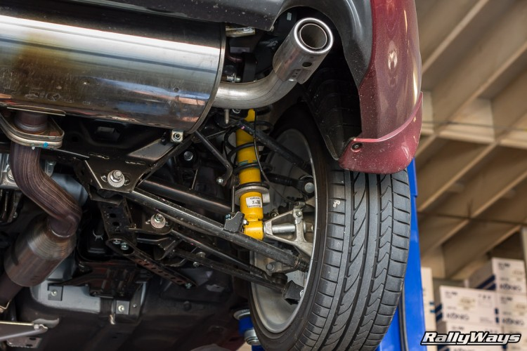 Factory Tuned Exhaust System - NC Miata