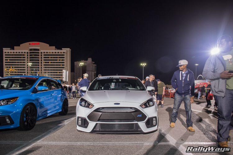 2016 Ford Focus RS SEMA Night