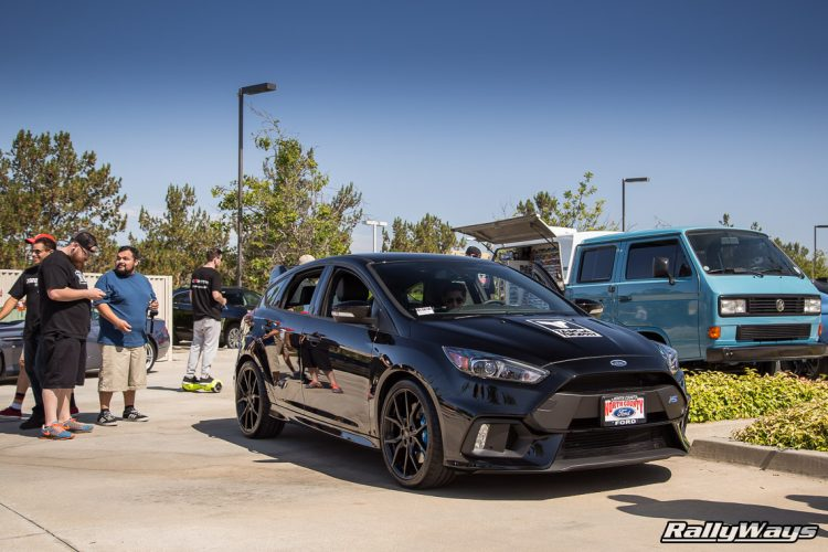 Black Ford Focus RS from North County Ford