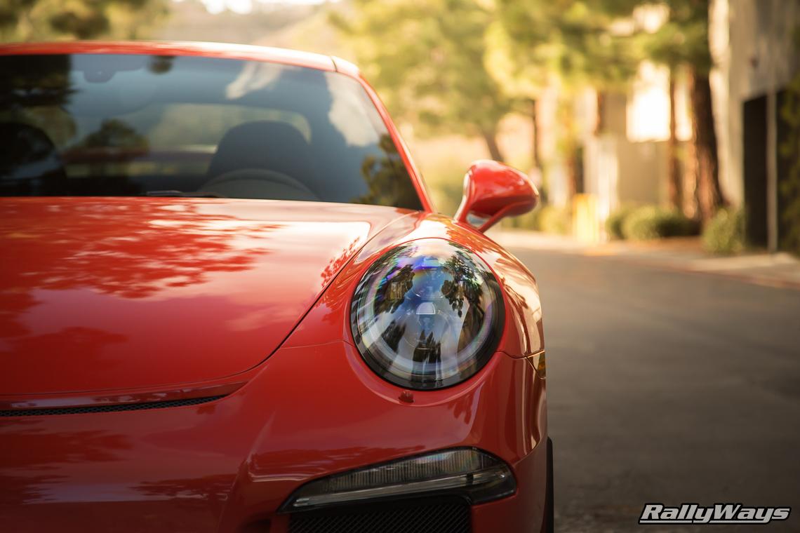 HG Motorsports Porsche 991 GT3 Lava Orange