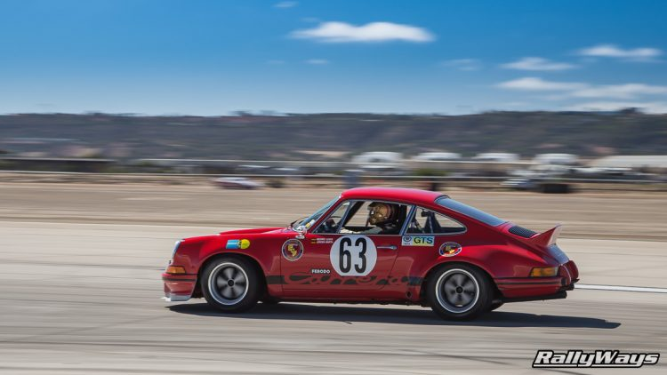Classic Porsche 911 Ducktail Race Car - RallyWays