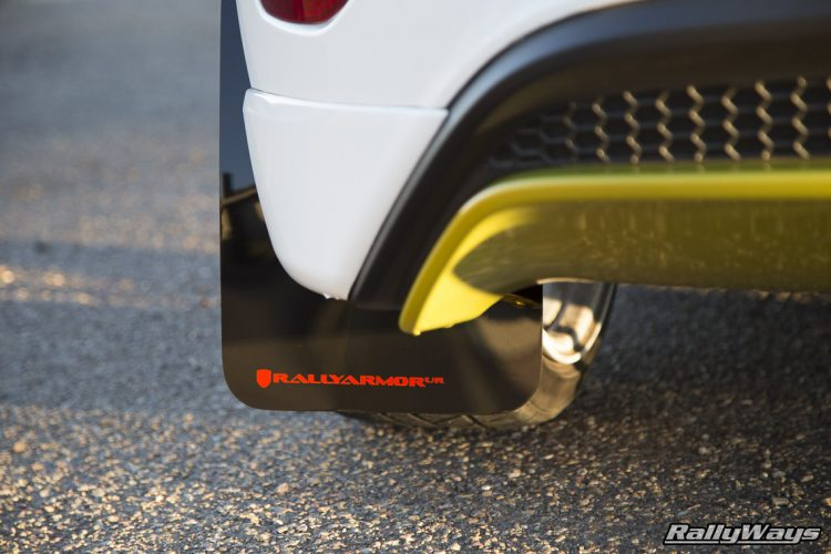 Rally Armor Fiesta ST Mud Flaps - Urethane
