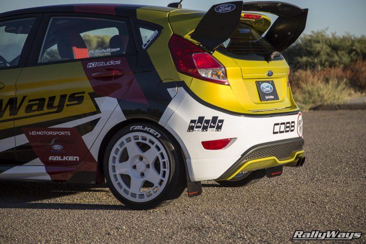 Ford Fiesta ST Mud Flaps - #RallyFist