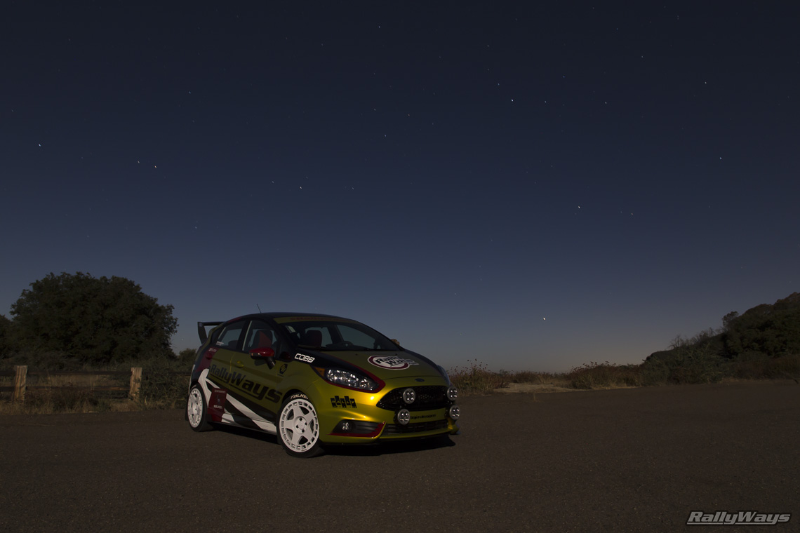 Light Painting Photo of #RallyFist