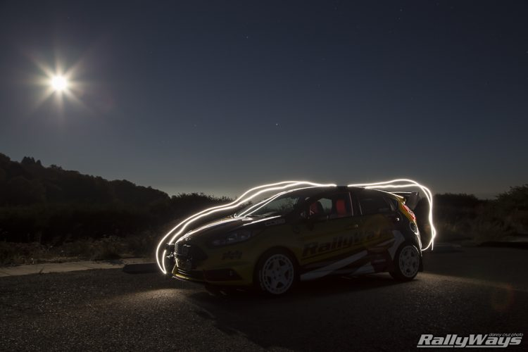 Light Painting Photography - Hot Hatch RallyWays