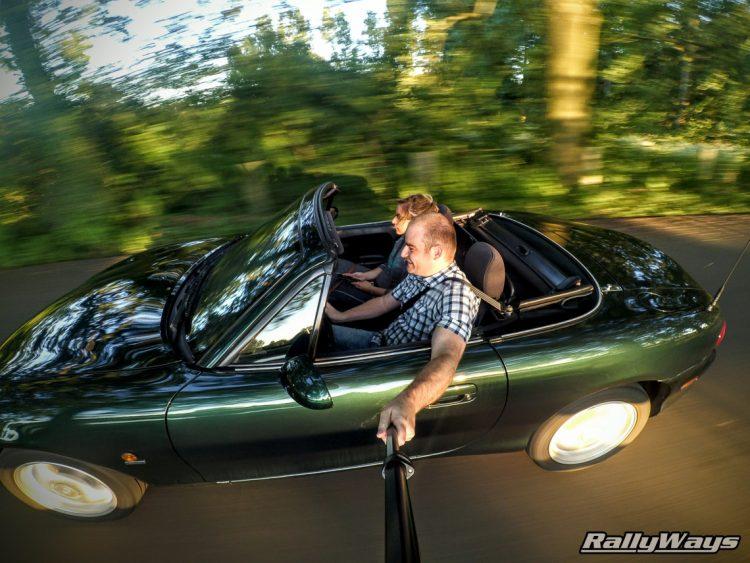 Philippe Govaerts Mazda MX-5 NB Selfie