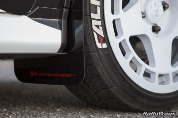Rally Armor Mud Flaps Fiesta ST - #RallyFist