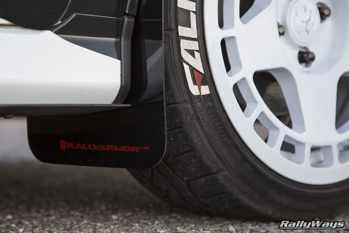 Rally Armor Fiesta ST Mud Flaps on RallyFist
