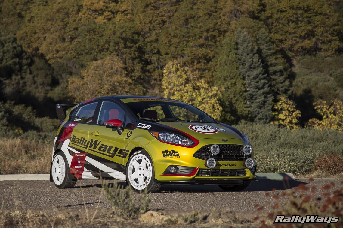 Rally Car Mud Flaps Ford Fiesta St