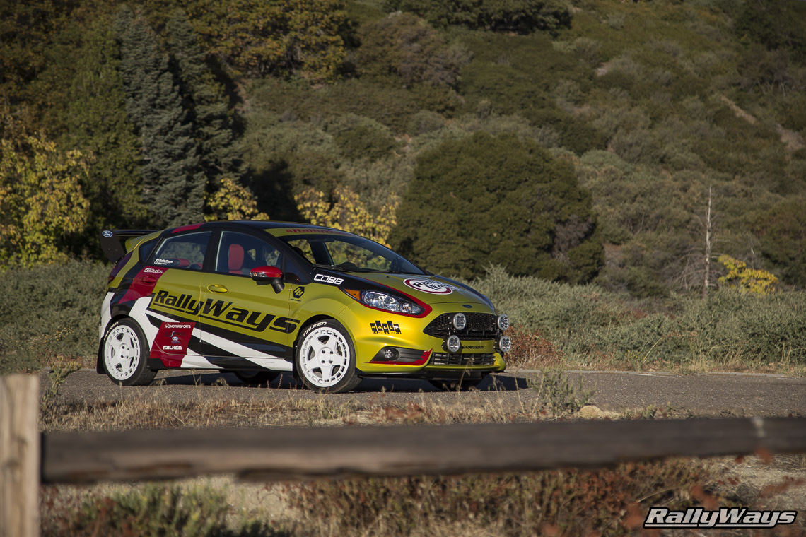 RallyWays Ford Fiesta ST Parts List - #RallyFist