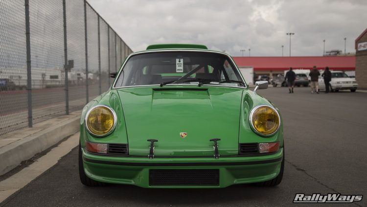 Classic Green Porsche 911 RSR - Vehicle Props