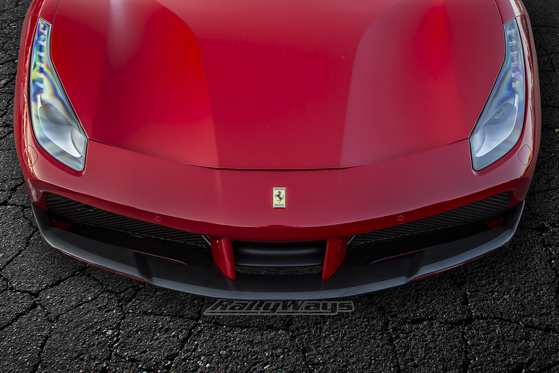 Ferrari 488 GTB Hood