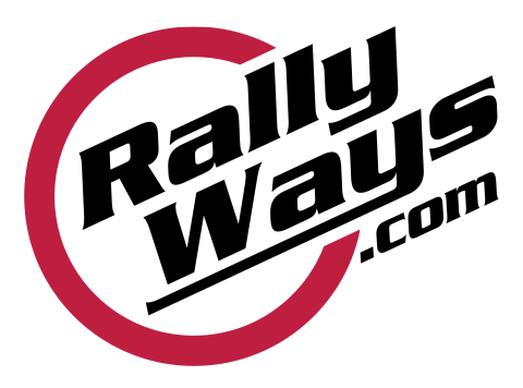 RallyWays Sticker Logo Welcome
