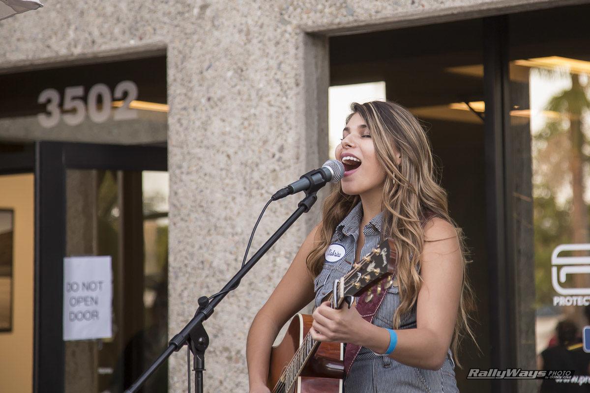 Sabrina Lentini Performing